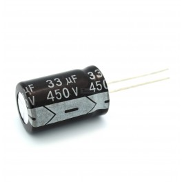 33uF 450V Electrolytic Capacitor
