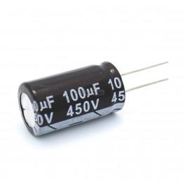 100uF 450V Electrolytic Capacitor