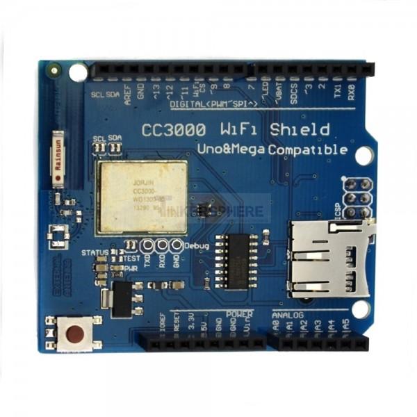 Arduino wifi shield cc tinkersphere