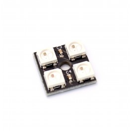 4 x WS2812 5050 RGB LED Square with Integrated Drivers (Neopixel Compatible)