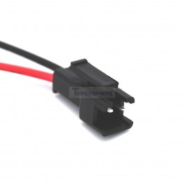 Male 2 Pin JST SM Connector with Wires