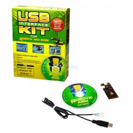 USB Interface Kit for Robotic Arm