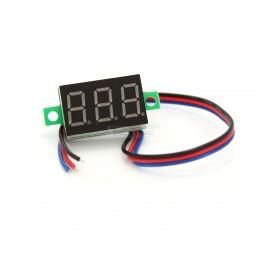 Mini 3 wire Volt Meter Display