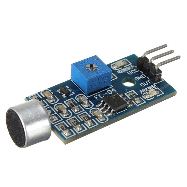 $4.99 - Microphone Sound Detector (Arduino Compatible) - Tinkersphere
