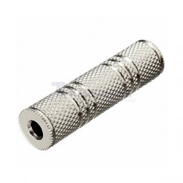 "1/8"" Coupler : Mono Female 3.5mm to Female 3.5mm"