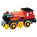 Red Motorized Train Engine