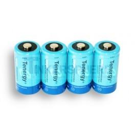 NiMH Rechargeable D Batteries: 4 pack 10000mAH