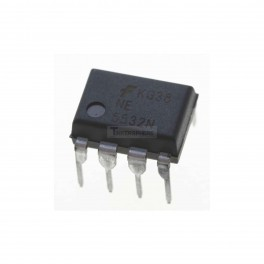 NE5532 Dual Audio Op Amp: Low-Noise High-Speed