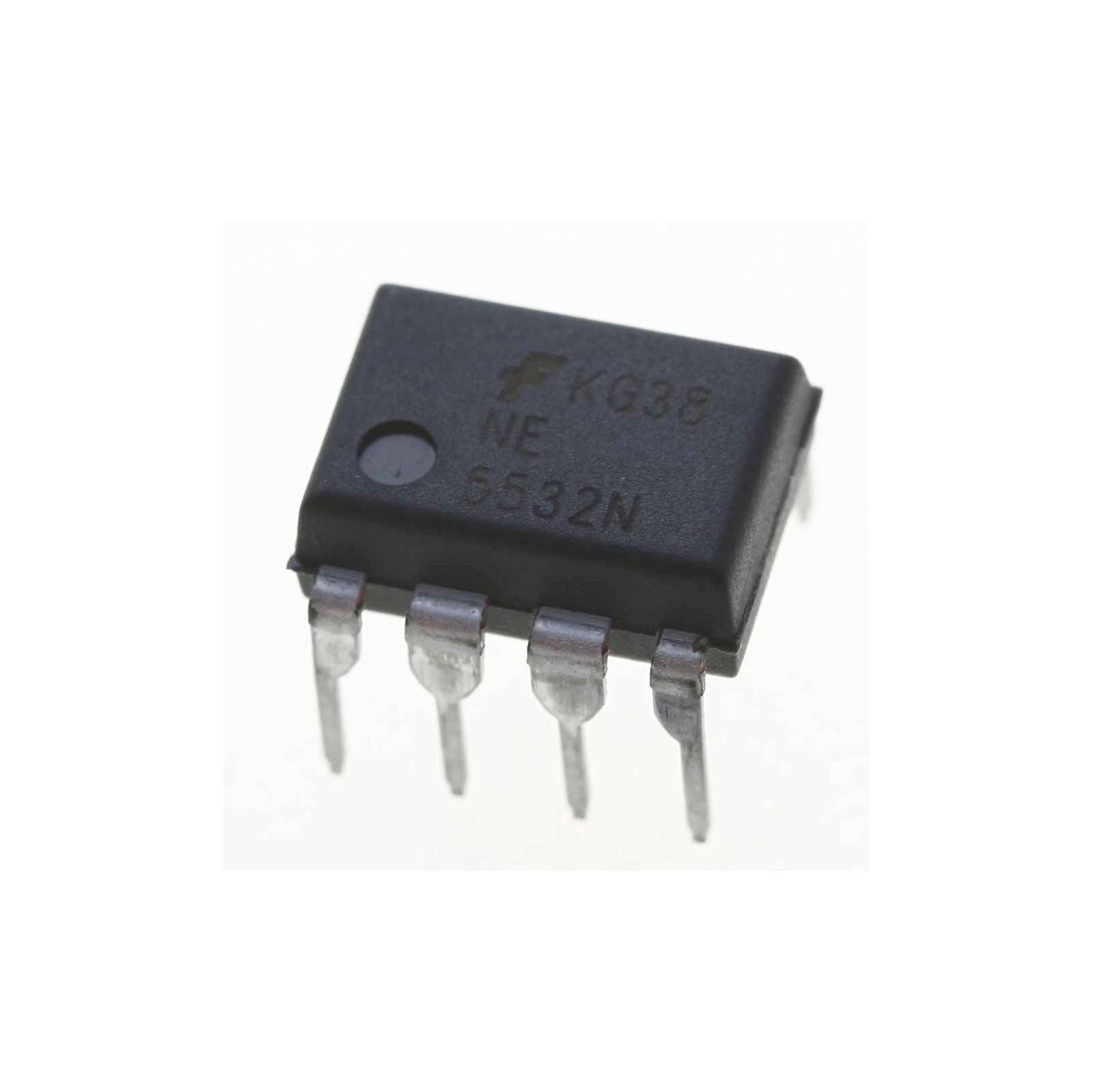 NE5532 Dual Audio Op Amp: Low-Noise High-Speed - Tinkersphere
