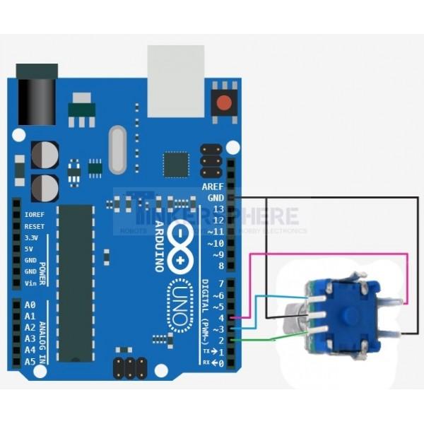Rotary Encoder: EC11