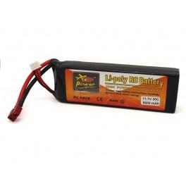 11.1V 5000mAh 3S 30C Lipo Battery