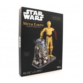 Star Wars Gift Set: R2-D2 & C-3PO Metal Earth Models