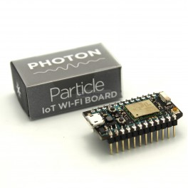 Particle Photon with Headers (Assembled)