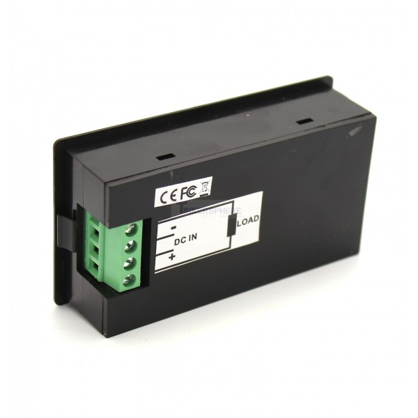 Large Panel-Mount Digital Power Meter - 6 5V to 100VDC up to 20A