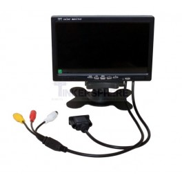 7 inch Monitor: VGA & RCA Inputs