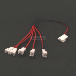 5 way lipo Battery Splitter Cable with Micro JST