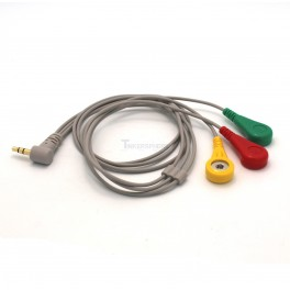 ECG Cable 3.5mm 3 Electrode