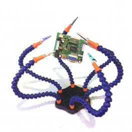 Flexible Third Hand Kit with 6 Arms