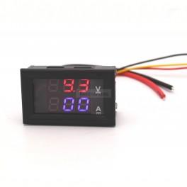 Digital Volt and Amp Meter Simultaneous Display