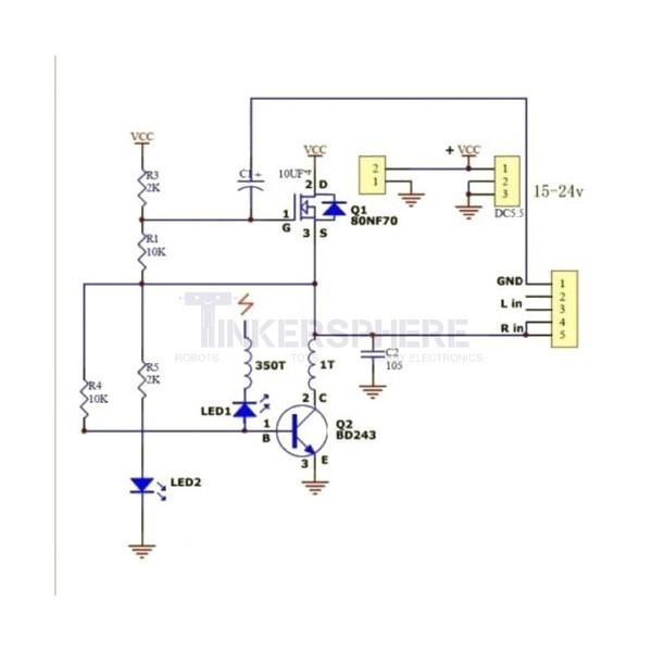 Diy Tesla Coil Circuit - Diy Projects