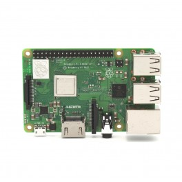 Raspberry Pi 3 Model B+ : 1GB RAM 1.4Ghz