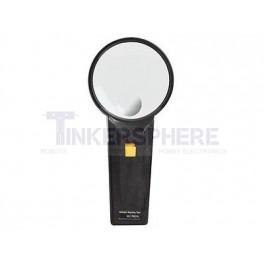 Illuminated Magnifying Glass - 80mm