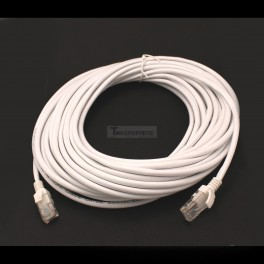 Extra Long 50ft Ethernet Cable White CAT5E