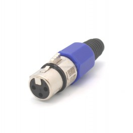 3 Pin XLR Jack Solder Connector