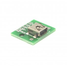 Female Mini USB Breakout Board