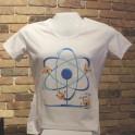Electron Roller Coaster Atom T-Shirt