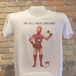 C-3PO Ironman We All Have Dreams T-Shirt
