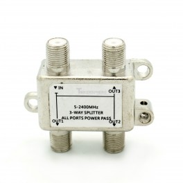 Coax Splitter 3 Way