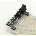 Mini USB Breadboard Power Supply Module 3.3V & 5V (Arduino & Raspberry Pi Compatible)