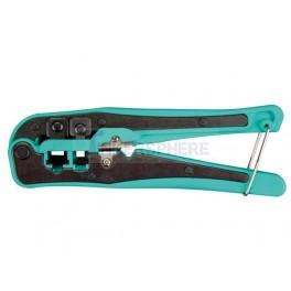 Crimping Tool for Network Cables RJ10, RJ11, RJ45