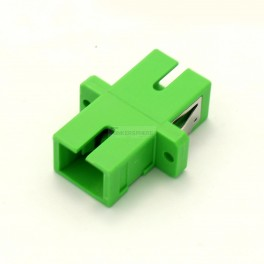 SC/APC to SC/APC Coupler - for Singlemode/multimode Fiber Optic Connections - 5 Pack