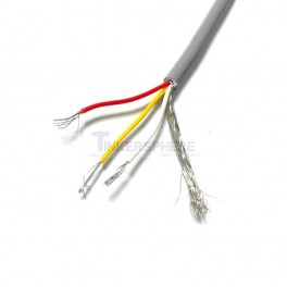 3 Conductor Shielded Wire by the foot