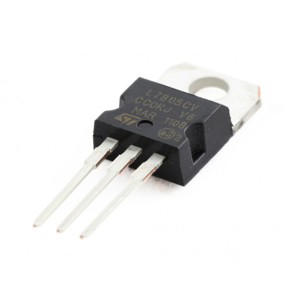 1 45 - 5v Voltage Regulator - L7805cv