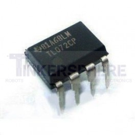 Op Amp (Operational Amplifier): TL072CP