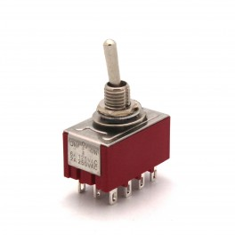12 Pin Toggle Switch: 4PDT