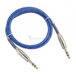 "Stereo 1/4"" Audio Cable 3.28ft"