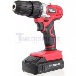 18V Cordless Drill with LED Worklight