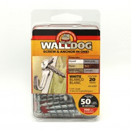 "1-1/4"" Walldog Screw Anchor Package Of 20"