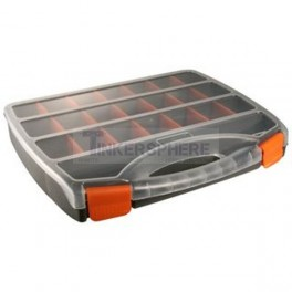 Black & Orange Organizer with Removable Tabs