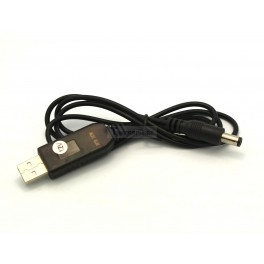 5V to 12V Boost Converter USB to DC 5.5x2.1mm Cable