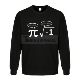 Be Rational Get Real Pi Math Sweater