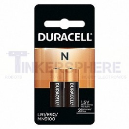 2 Pack N Batteries E90 LR1 MN9100 910A