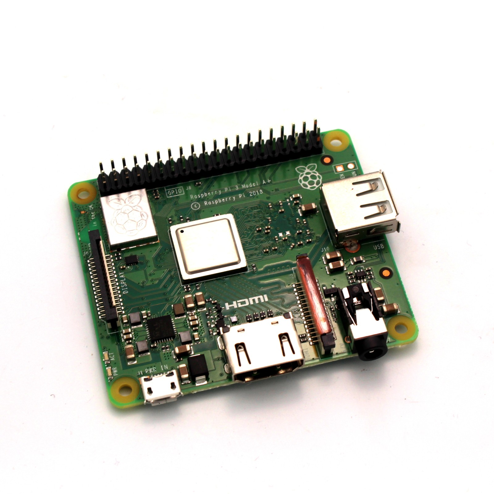 Raspberry Pi 3 Model A+: 512MB RAM 1 4Ghz - Tinkersphere