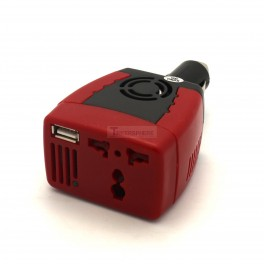 Cigarette Lighter to Outlet Adapter 12V to 110VAC