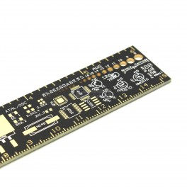 "PCB Ruler - 6"" with SMD & AWG Reference"