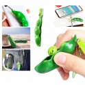 Fidget Squeeze Bean Phone Pendant